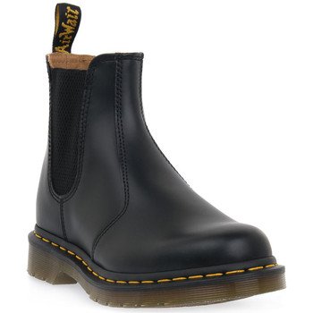 Chaussures Homme Boots Dr Martens 2976 SMOOTH BLACK Nero
