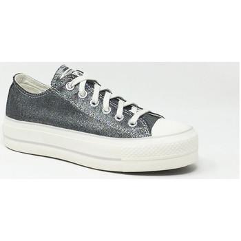 Chaussures Baskets basses Converse CTAS OX LIFT SILVER Argenté