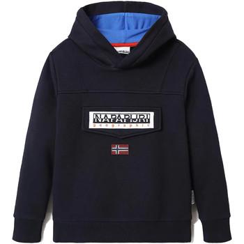 Vêtements Enfant Sweats Napapijri Burgee Bleu
