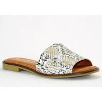 Chaussures Femme Mules Kaola 590 BLANC GRIS