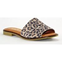 Chaussures Femme Mules Kaola 590 LEOPARD