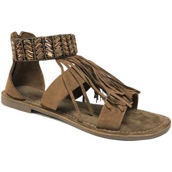 Chaussures Femme Sandales et Nu-pieds Santafe Selma marron