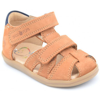 Chaussures Garçon Sandales et Nu-pieds Shoo Pom pika scratch Marron