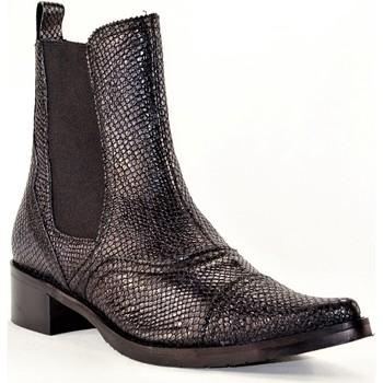 Chaussures Femme Bottines PintoDiBlu 9951 NOIR PYTHON