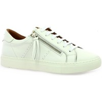 Chaussures Femme Baskets basses K.mary Baskets cuir Blanc