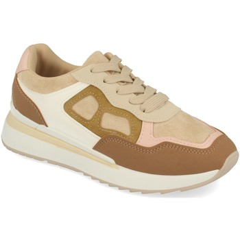 Chaussures Femme Baskets basses Tephani TF22111 Beige