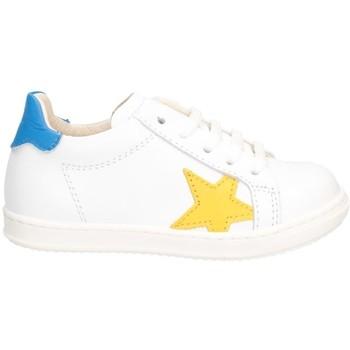 Chaussures Garçon Baskets basses Gioiecologiche 5567 Blanc jaune