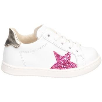 Chaussures Fille Baskets basses Gioiecologiche 5557 Blanc / fuchsia
