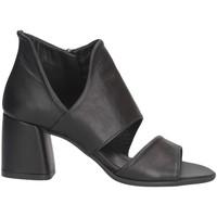 Chaussures Femme Sandales et Nu-pieds Hersuade 1201 Bottes et bottines Femme Noir Noir