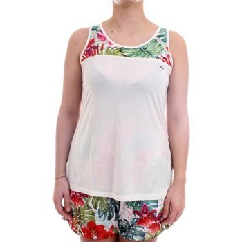Vêtements Femme Débardeurs / T-shirts sans manche Freddy S1WSLK1 Débardeur femme blanc blanc