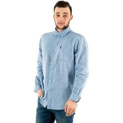 Vêtements Homme Chemises manches longues Barbour msh4677 bl33 blue bleu