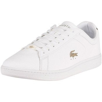 Chaussures Homme Baskets basses Lacoste Carnaby Evo Blanc