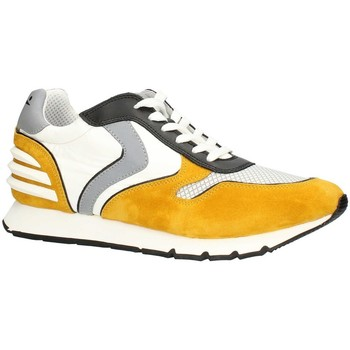 Chaussures Homme Baskets basses Voile Blanche LIAMPOWER07PE21 faible Homme JAUNE BLANC JAUNE BLANC