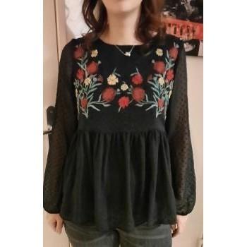 Vêtements Femme Tops / Blouses Gil Holsters Blouse noire Noir