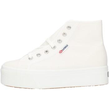 Chaussures Femme Baskets montantes Superga 2705HITTOP blanc