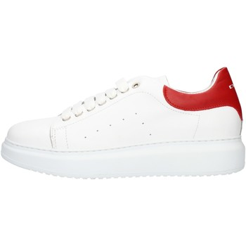 Chaussures Homme Baskets basses Exton 955 Rouge
