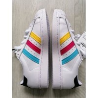 Chaussures Femme Baskets basses adidas Originals Basket Adidas Superstar Blanc