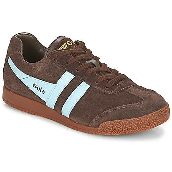 Chaussures Homme Baskets basses Gola HARRIER Marron / Bleu