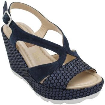 Chaussures Femme Sandales et Nu-pieds Angela Calzature ANSANGC1932blunotte blu