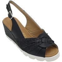 Chaussures Femme Sandales et Nu-pieds Angela Calzature ANSANGC783nr nero