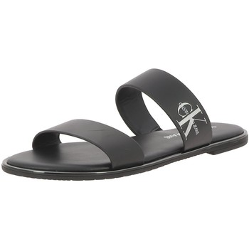Chaussures Femme Mules Calvin Klein Jeans FLAT SANDAL Noir