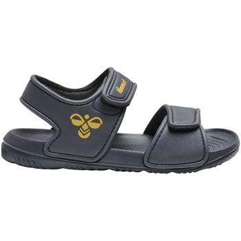 Chaussures Garçon Sandales et Nu-pieds Hummel PLAYA JR BLEU