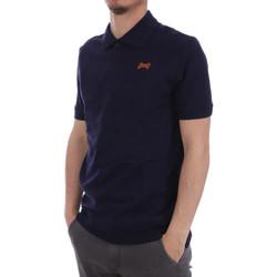 Vêtements Homme Polos manches courtes Hungaria H-15TLU0D000 Bleu
