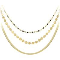 Montres & Bijoux Femme Colliers / Sautoirs Sc Bohème B2304-DORE+B2392-DORE+B2394-NOIR Doré