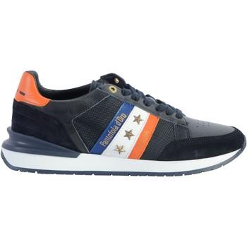 Chaussures Homme Baskets basses Pantofola d'Oro Basket Cuir  Ascoli Runner Bleu