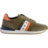 Chaussures Homme Baskets basses Pantofola d'Oro Basket Cuir  Ascoli Runner Olive