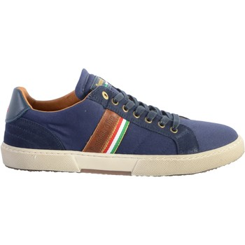 Chaussures Homme Baskets basses Pantofola d'Oro Basket Cuir  Modena Canvas Uomo Bleu