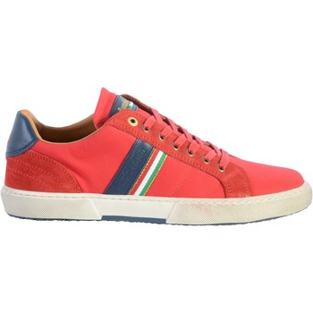Chaussures Homme Baskets basses Pantofola d'Oro Basket Cuir  Modena Canvas Uomo Rouge Course