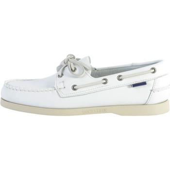 Chaussures Homme Chaussures bateau Sebago Docksides Cuir Sebago Portland Blanc