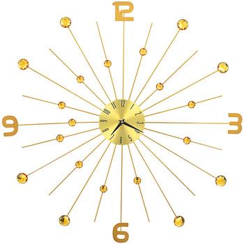 Maison & Déco Horloges Vidaxl Horloge murale 70 cm Or