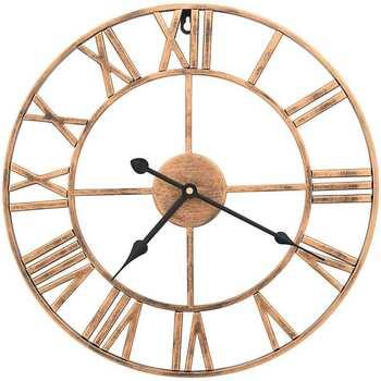 Maison & Déco Horloges Vidaxl Horloge murale 40 cm Or