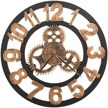 Maison & Déco Horloges Vidaxl 58 cm Or