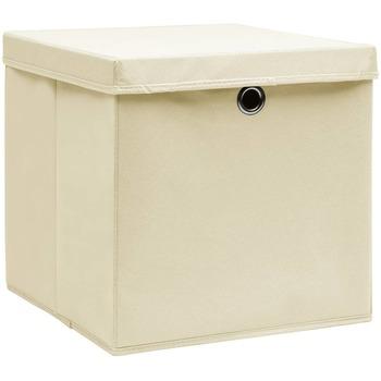 Maison & Déco Paniers, boites et corbeilles Vidaxl Boîte de rangement Crème