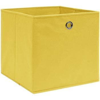 Maison & Déco Paniers, boites et corbeilles Vidaxl Boîte de rangement Jaune