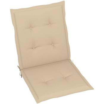 Maison & Déco Coussins VidaXL Coussin de chaise de jardin 100 x 50 x 4 cm Beige