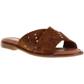 Chaussures Femme Mules Kaola 791 Camel
