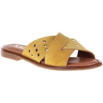 Chaussures Femme Mules Kaola 791 Jaune
