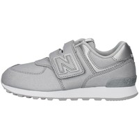 Chaussures Fille Baskets basses New Balance YV574KS ARGENT