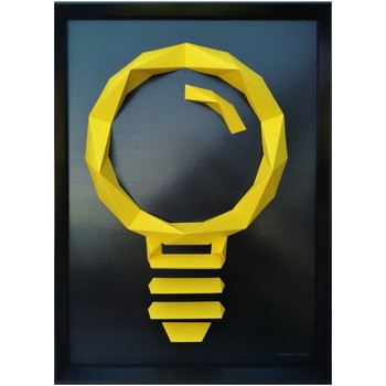 Maison & Déco Tableaux, toiles Polygone Origami Ampoule Autres