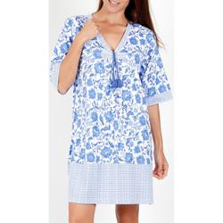 Vêtements Femme Robes courtes Admas Robe estivale manches courtes Etienne bleu Bleu