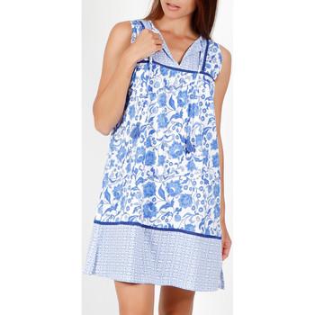 Vêtements Femme Pyjamas / Chemises de nuit Admas Robe estivale sans manches Etienne bleu Bleu