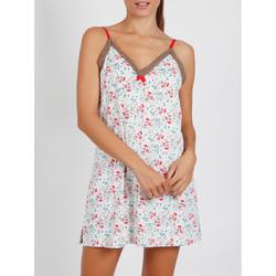 Vêtements Femme Pyjamas / Chemises de nuit Admas Nuisette Pink Romantic ivoire Ivoire