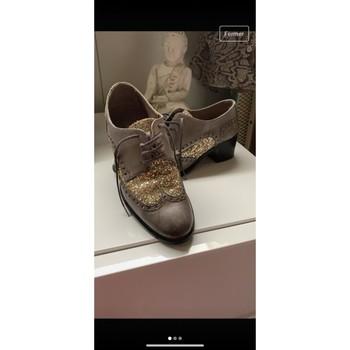 Chaussures Femme Derbies Pollini Chaussures femmes Gris