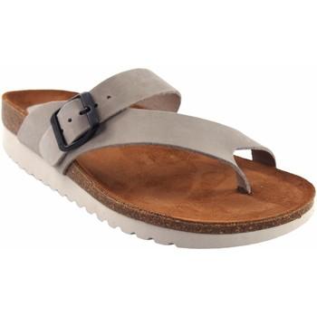 Chaussures Femme Tongs Interbios Sandale femme  7119-mg gris Gris