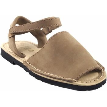 Chaussures Fille Sandales et Nu-pieds Duendy de  9361 taupe Marron