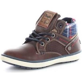 Chaussures Femme Baskets montantes Wrangler WJ16238 MARRON